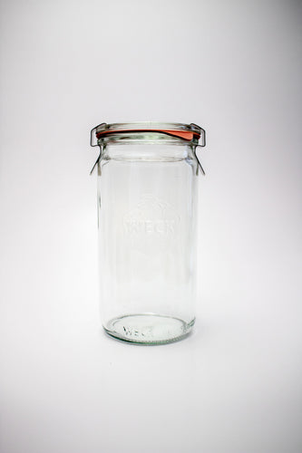 Weck Cylindrical Jar 1/4L