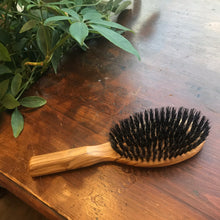 Load image into Gallery viewer, Olivewood Padle Hairbrush
