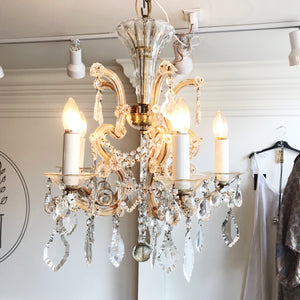 Mother Maria Theresa 5 Arm Chandelier