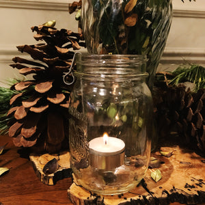 Upcycler - Mason Jar Tealight Holder