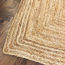 Load image into Gallery viewer, Jute Handmade Rug 4x6