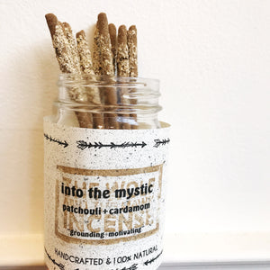 "Handmade Incense ""Into The Mystic"""