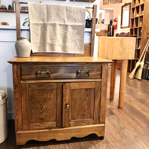 Antique Wood Washstand