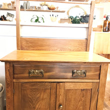 Load image into Gallery viewer, Antique Wood Washstand