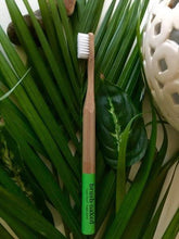 Load image into Gallery viewer, Adult Bamboo Toothbrush Medium- Nylon Bristles