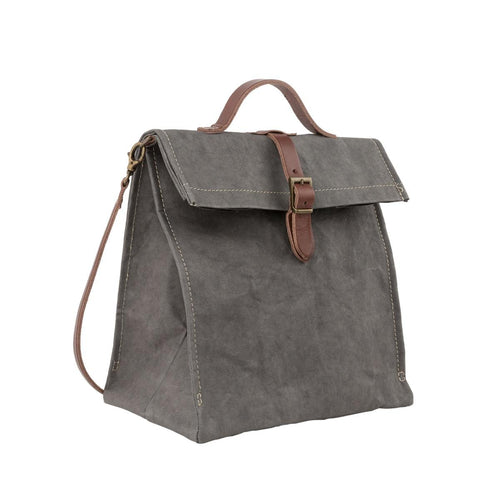 Lunch Bag Long Strap - Dark Grey