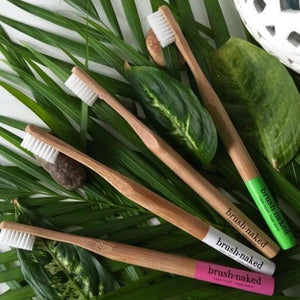 Kids Bamboo Toothbrush - Nylon Bristles