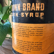 Load image into Gallery viewer, Antique Crown Brand Corn Syrup Can