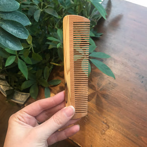 Small Wooden Pocket Comb