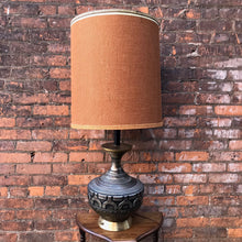 Load image into Gallery viewer, Giant MCM Vintage Lamp (As Is)