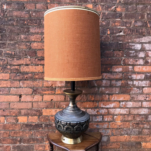 Giant MCM Vintage Lamp (As Is)