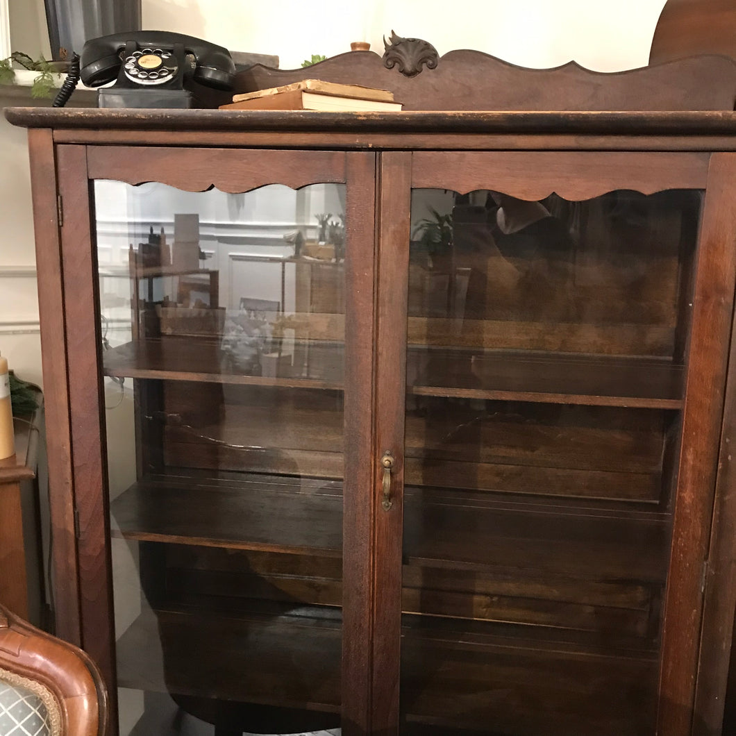 Beautiful Antique Wood Cabinet