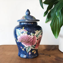 Load image into Gallery viewer, Vintage Painted Ginger Jar