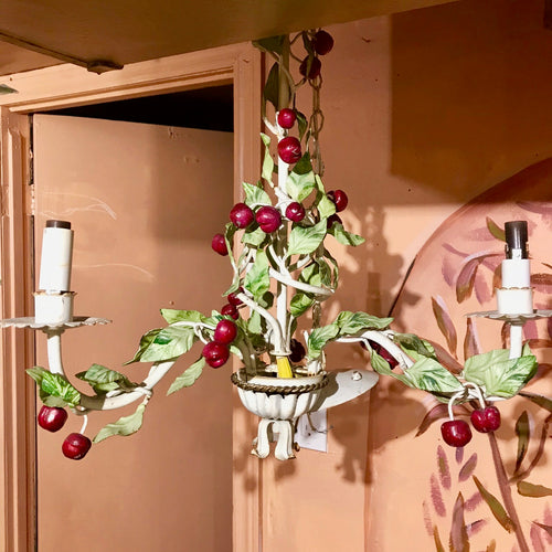 Whimsical Cherry Chandelier