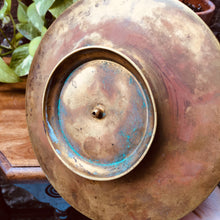 Load image into Gallery viewer, Rare Brass Incense Dish
