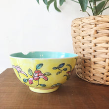 Load image into Gallery viewer, Vintage Ceramic Hand Painted Noodle Bowl