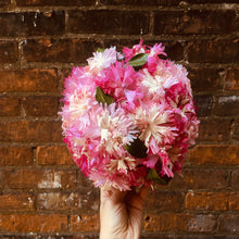 Load image into Gallery viewer, Vintage Pink Carnation Flower Hat