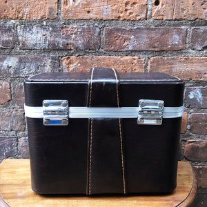 Vintage Black Travel Case