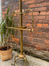 Load image into Gallery viewer, Incredible Brass Valet Butler Stand