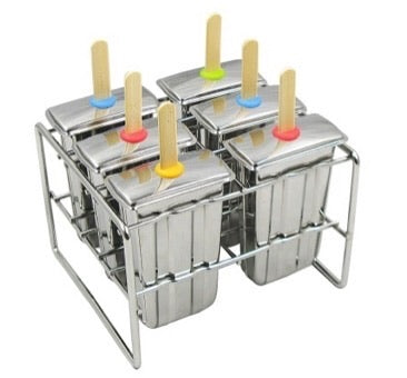 Stainless Steel Popsicle Mold (Paddle)