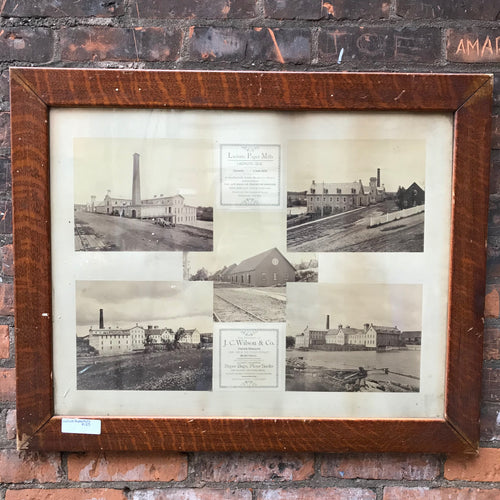 Wood Framed Print of Lachute Paper Mills