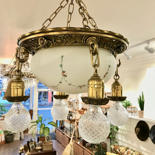 Antique Victorian Chandelier
