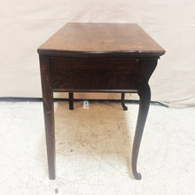Load image into Gallery viewer, Antique Oak Console Table with Drawers
