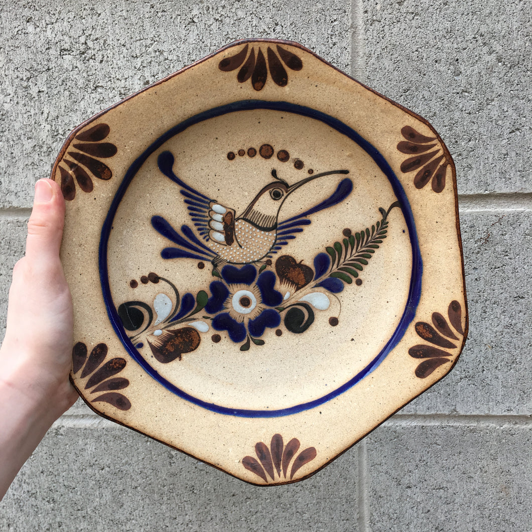 Artisan Crafted Clay Bowl Wall Hanging