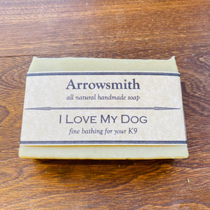 I love My Dog Soap