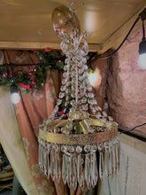 Load image into Gallery viewer, French Empire Style with Waterfall Crystal Cascade and 2 Tier Wedding Cake Crystal Bottom