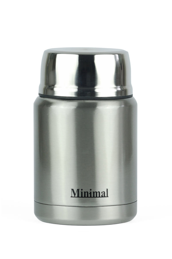 Classic Silver Insulated Food Jar