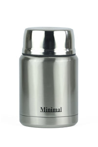Classic Silver Insulated Food Jar 500ml