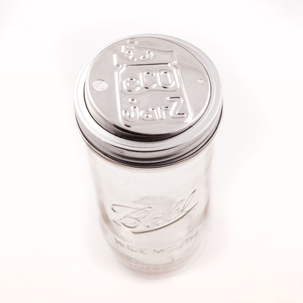 Stainless Steel Mason Jar Drinking Lid