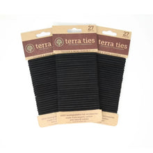 Load image into Gallery viewer, Biodegradable Hair Ties 27 Pack