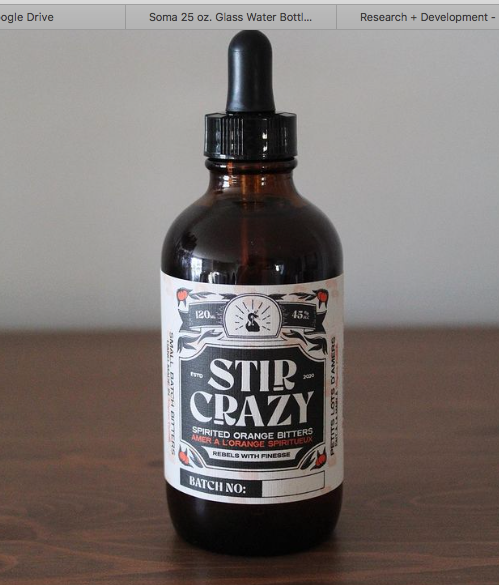 Stir Crazy Spirited Orange Bitters [Locally Made]
