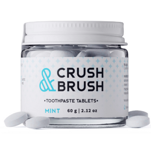 Crush and Brush Toothpaste Tabs