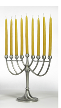 Load image into Gallery viewer, Beeswax Hanukkah Candles