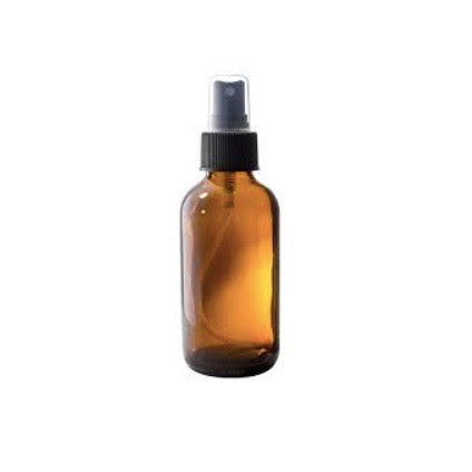Amber Spray Bottle 4oz