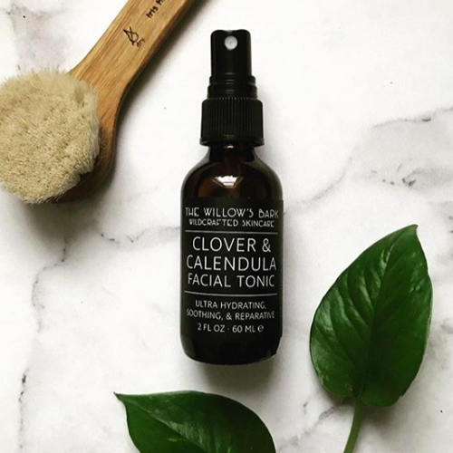 Clover and Calendula Facial Tonic Toner