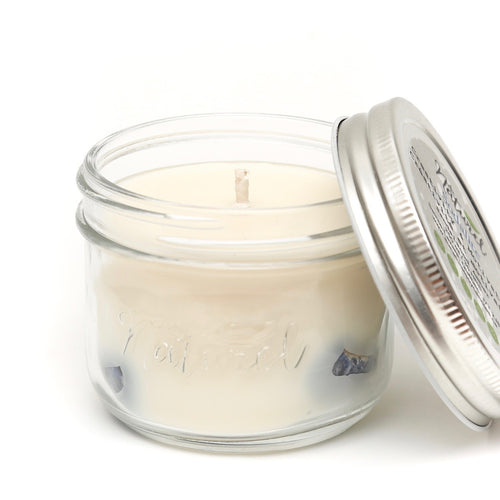Gemstone Eucalyptus Soy Candle - Strength & Energy