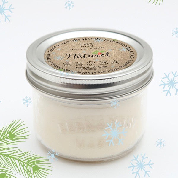 Winterberry Soy Candle