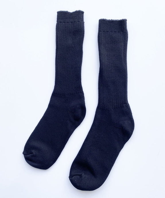 COMING SOON Cotton Socks -Black