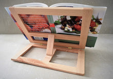 Load image into Gallery viewer, Wood Book Holder