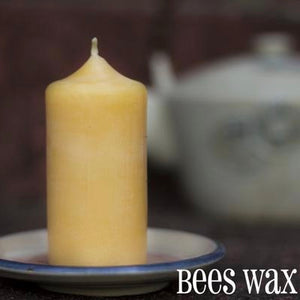 "3"" Beeswax Pillar Candle"