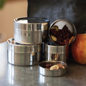 Small Snack Stainless Steel Container