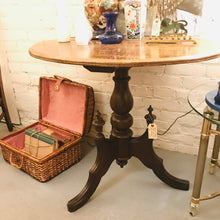 Load image into Gallery viewer, Beautiful Small Table with Oval Top & Elaborate Legs