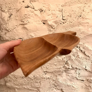 Divided Wood Dish