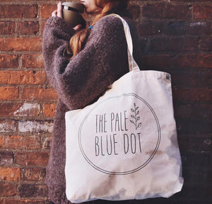 The Pale Blue Dot Organic Cotton Tote