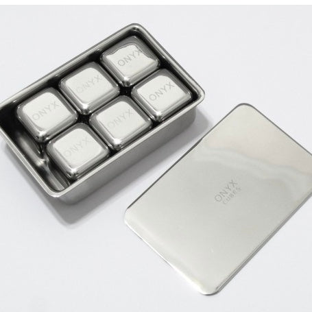 Stainless Steel Icecube 6 Pack