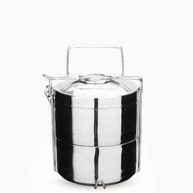 2 Tier Stainless Steel Tiffin Food Container